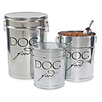 Harry Barker® Dog Food Storage Canister in Silver