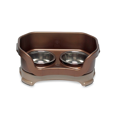 Neater Feeder® Bronze Mess-Proof Small Pet Bowl