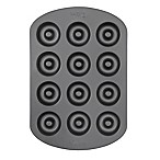 Wilton® Non-Stick 12-Cavity Mini Donut Pan