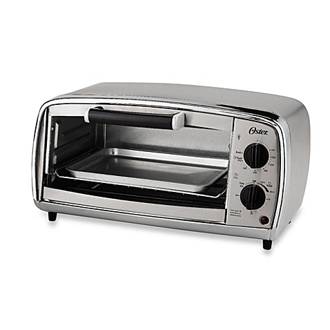 Oster® 4-Slice Stainless Steel Toaster Oven