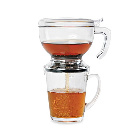 Cup with tea infuser