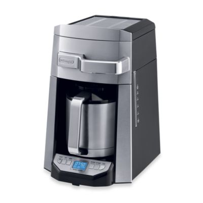 DeLonghi 12-Cup Drip Coffee Maker with Complete Front Access