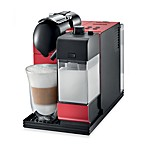 DeLonghi Lattissima Plus EN520R Pump Automatic Espresso/Latte/Cappuccino Machine in Red