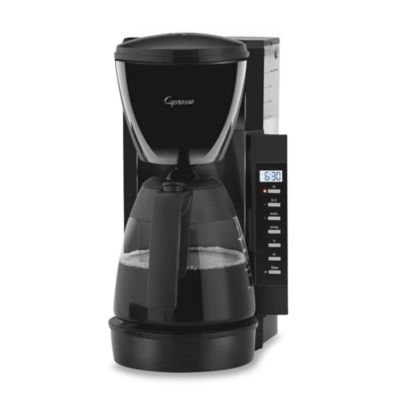 Capresso® CM200 10-Cup Space Saving Coffee Maker