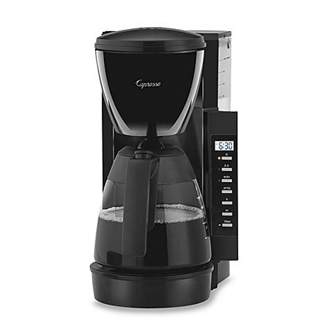Buy capresso cm200 10 cup space saving coffee maker from - Space saving coffee maker ...