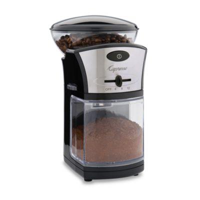 Capresso® Disk Coffee Burr Grinder