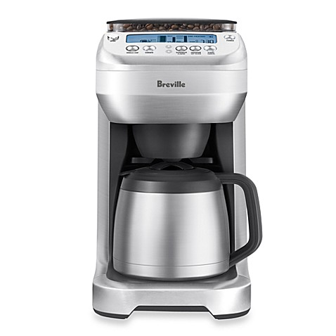 Thermal Coffee Maker With Built In Grinder