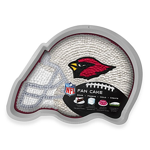 NFL Arizona Cardinals Fan Cake Silicone Cake Pan