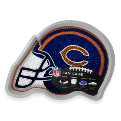 Fan Cake NFL Silicone Cake Pan in Chicago Bears