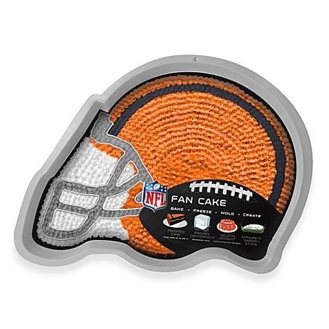 NFL Cleveland Browns Fan Cake Silicone Cake Pan