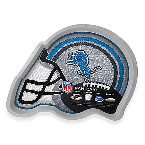 NFL Detroit Lions Fan Cake Silicone Cake Pan