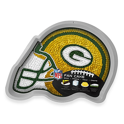 NFL Green Bay Packers Fan Cake Silicone Cake Pan