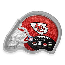 NFL Kansas City Chiefs Fan Cake Silicone Cake Pan
