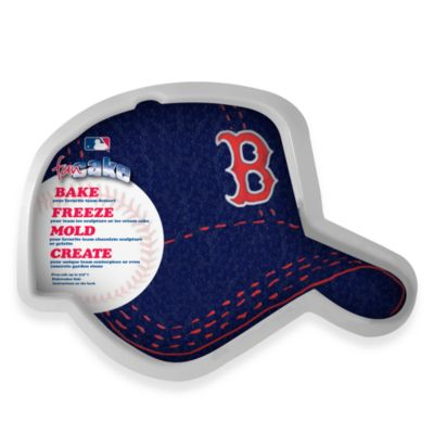 MLB Boston Red Sox Fan Cake Silicone Cake Pan