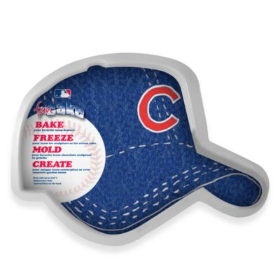 MLB Chicago Cubs Fan Cake Silicone Cake Pan
