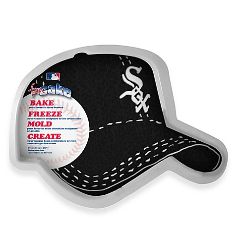 MLB Chicago White Sox Fan Cake Silicone Cake Pan
