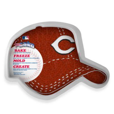 MLB Cincinnati Reds Fan Cake Silicone Cake Pan