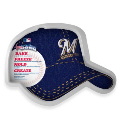 MLB Milwaukee Brewers Fan Cake Silicone Cake Pan