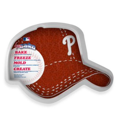 Fan Cake MLB Silicone Cake Pan in Philadelphia Phillies