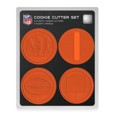NFL Cookie Cutter Set in Cincinnati Bengals