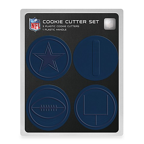 NFL Cookie Cutter Set in Dallas Cowboys