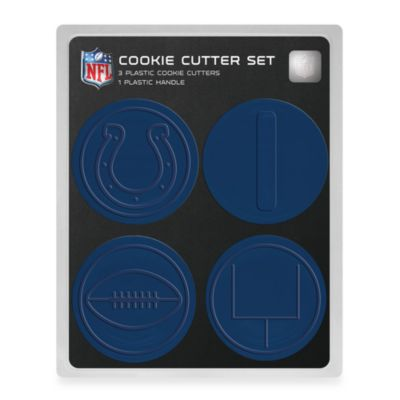NFL Cookie Cutter Set in Indinapolis Colts