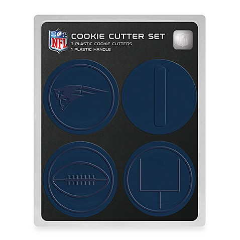 New England Patriots NFL Cookie Cutter Set
