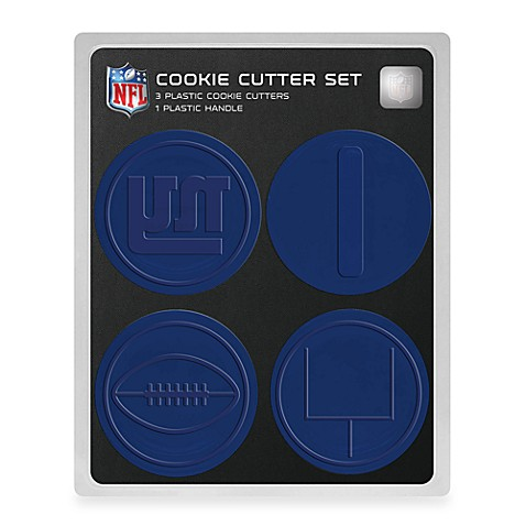 NFL Cookie Cutter Set in NY Giants