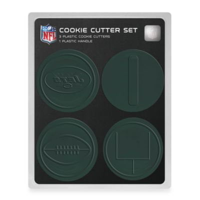 NFL Cookie Cutter Set in New York Jets