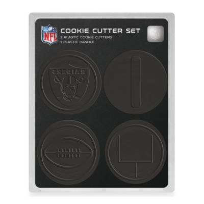 NFL Cookie Cutter Set in Oakland Raiders