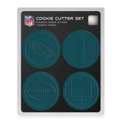 NFL Cookie Cutter Set in Philadelphia Eagles