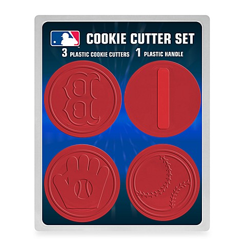 MLB Cookie Cutter Set in Boston Red Sox