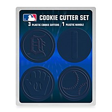 MLB Cookie Cutter Set in Detroit Tigers