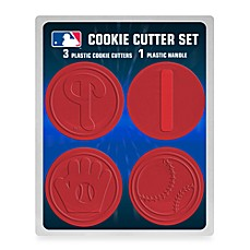 MLB Cookie Cutter Set in Philadelphia Phillies