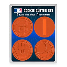 MLB Cookie Cutter Set in San Francisco Giants