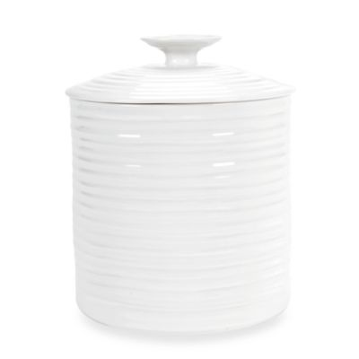 Portmeirion® Canister in White Better Casual Dinnerware