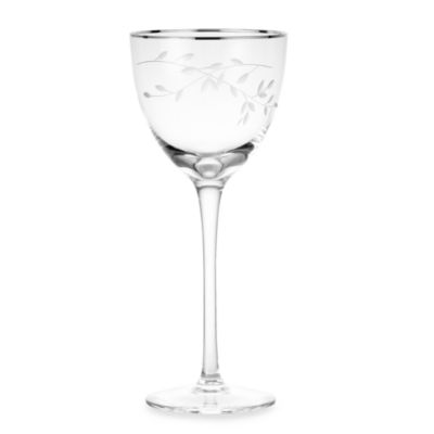 Noritake® Birchwood Platinum 8-Ounce Wine Glass