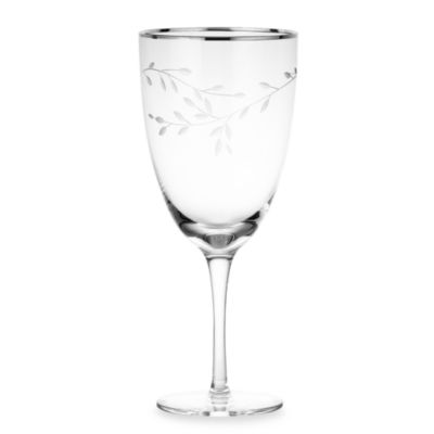 Noritake® Birchwood Platinum 15-Ounce Iced Beverage Glass