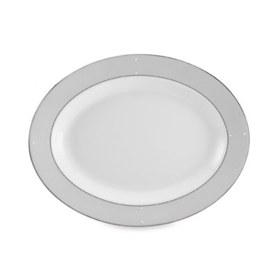 Mikasa® I Do Gown 14-Inch Oval Platter