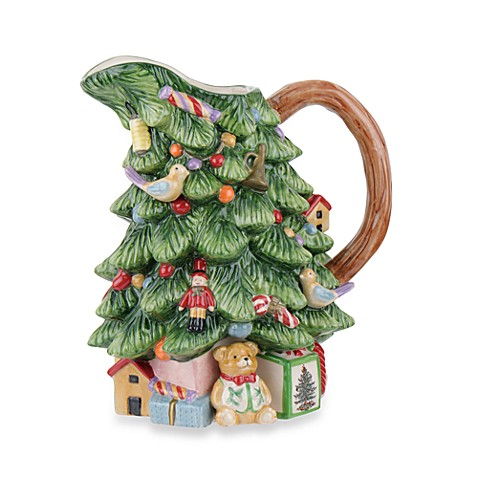 Spode® Christmas Tree 40-Ounce Sculpted Pitcher