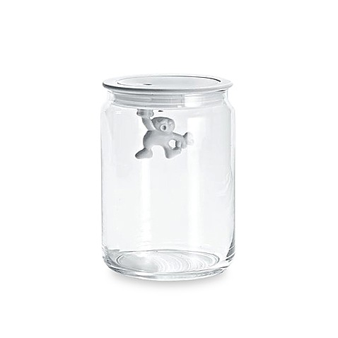 Alessi Gianni 31 3/4-Ounce Glass Kitchen Box