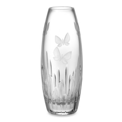 Waterford® Butterfly 11-Inch Vase