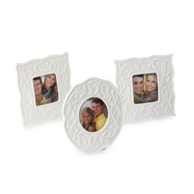 Lenox® Opal Innocence™ Carved Smal Frames (Set of 3)