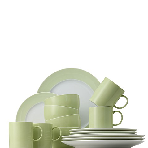 Rosenthal Sunny Day 16-Piece Dinnerware Set in Pastel Green
