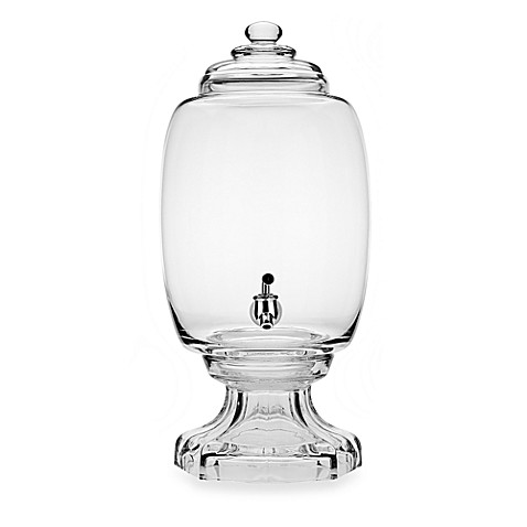 Godinger Dublin Crystal Westbury 3-Gallon Beverage Dispenser