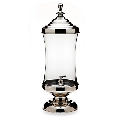 Godinger Dublin Crystal Monticello Beverage Dispenser
