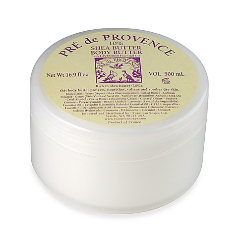 Pre de Provence® Shea Butter 16.9-Ounce Body Butter