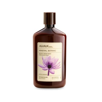 Ahava Mineral Botanic 17-Ounce Wash in Lotus and Chestnut