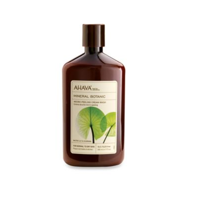 Ahava Mineral Botanic 17-Ounce Wash in Lily and Guarana