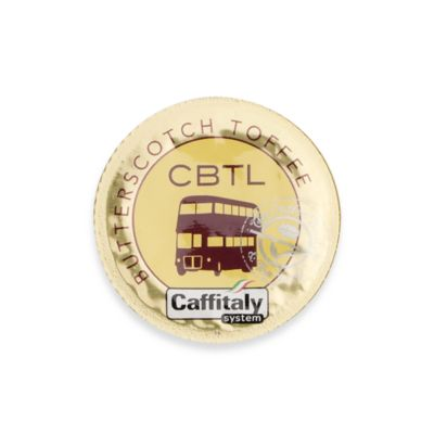 The Coffee Bean and Tea Leaf® CBTL™ Butterscotch Toffee Coffee Capsules